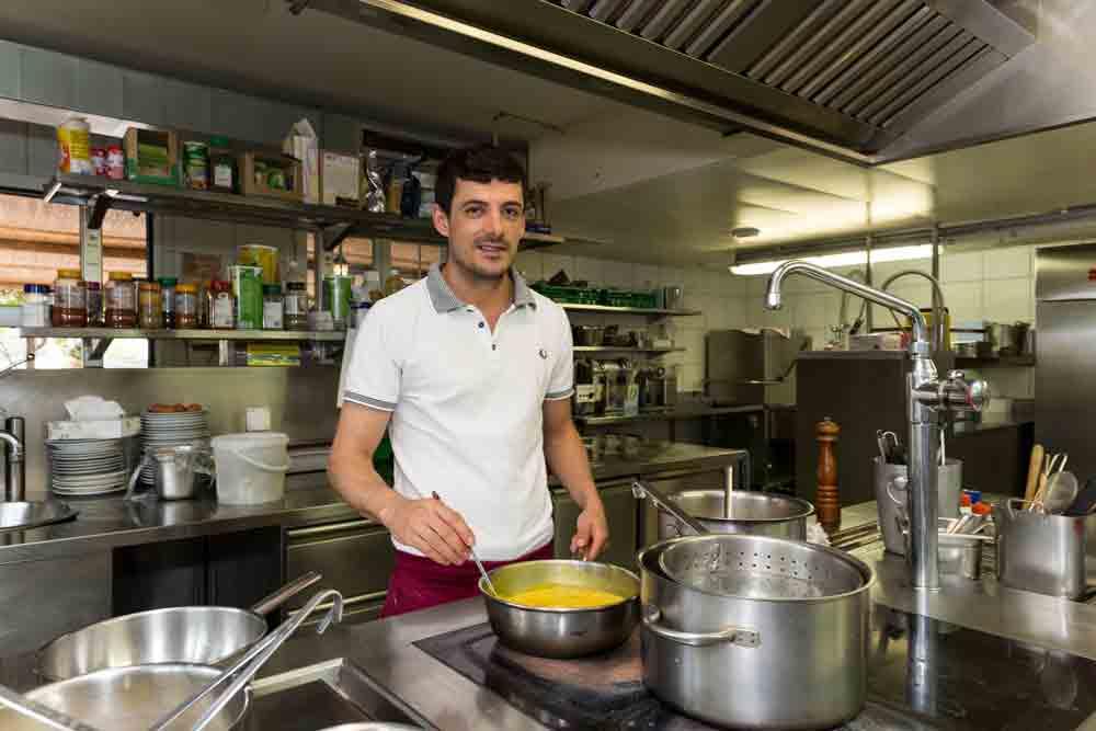 Restaurant Pizzeria Sonne » Küche